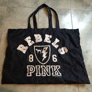 Pink by VS - Navy Blue Tote Bag